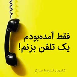 آمده بودم یک تلفن بزنم